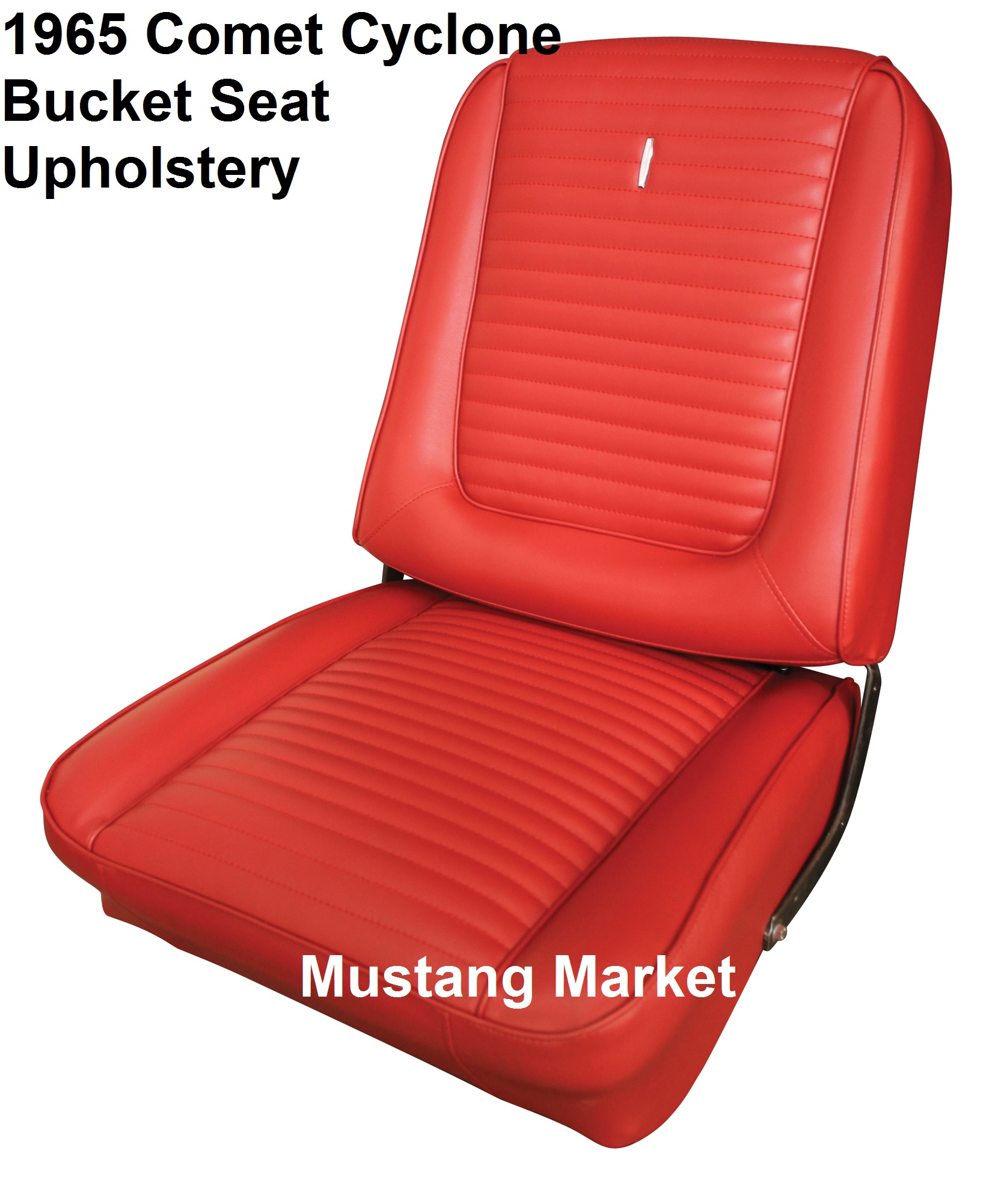 1965 65 et cyclone Bucket Seat Upholstery