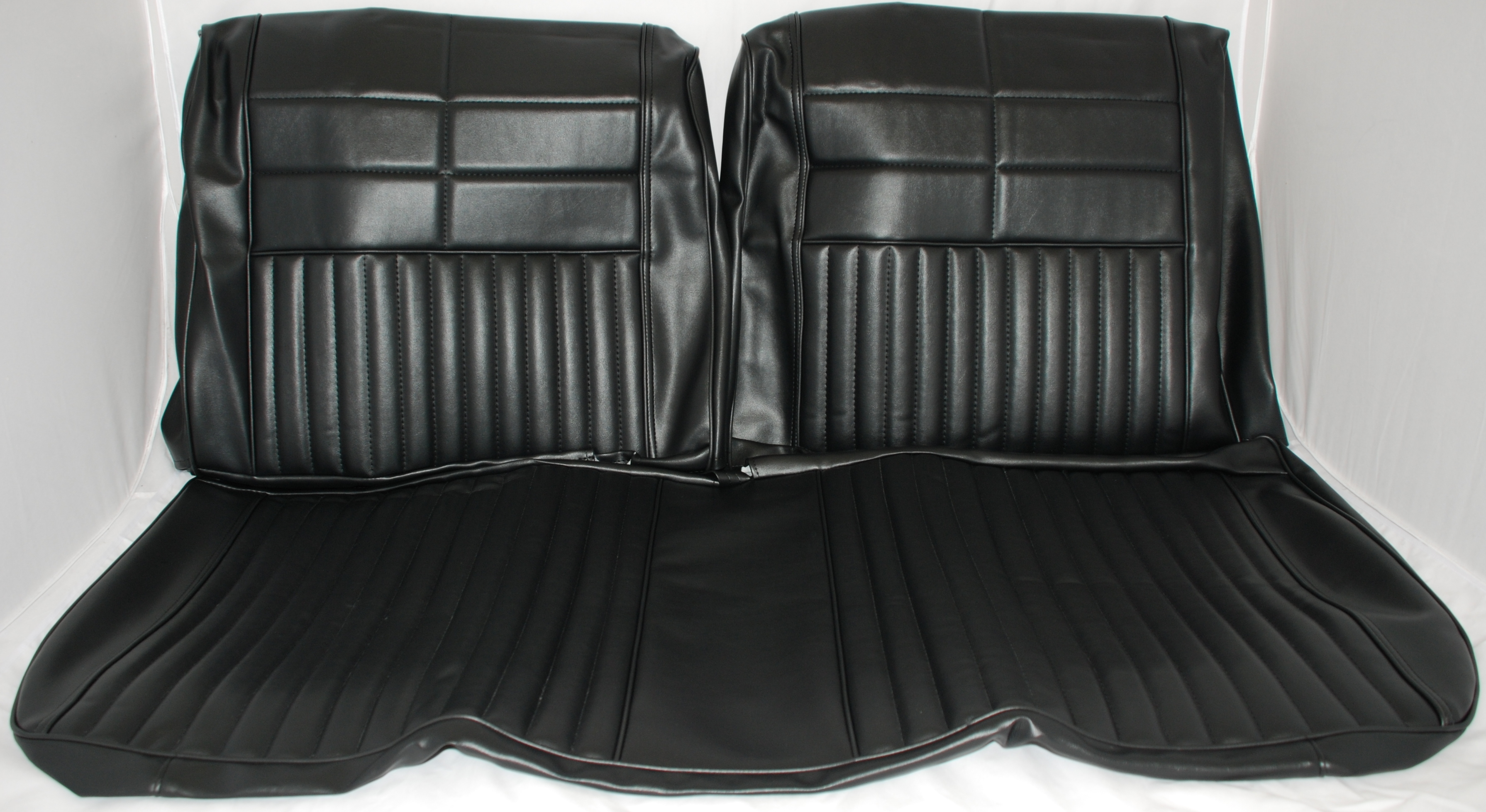 1965 65 Fairlane Split Bench Seat Upholstery. Full resolution  photo, nominally Width 3581 Height 1957 pixels, photo with #5A716F.