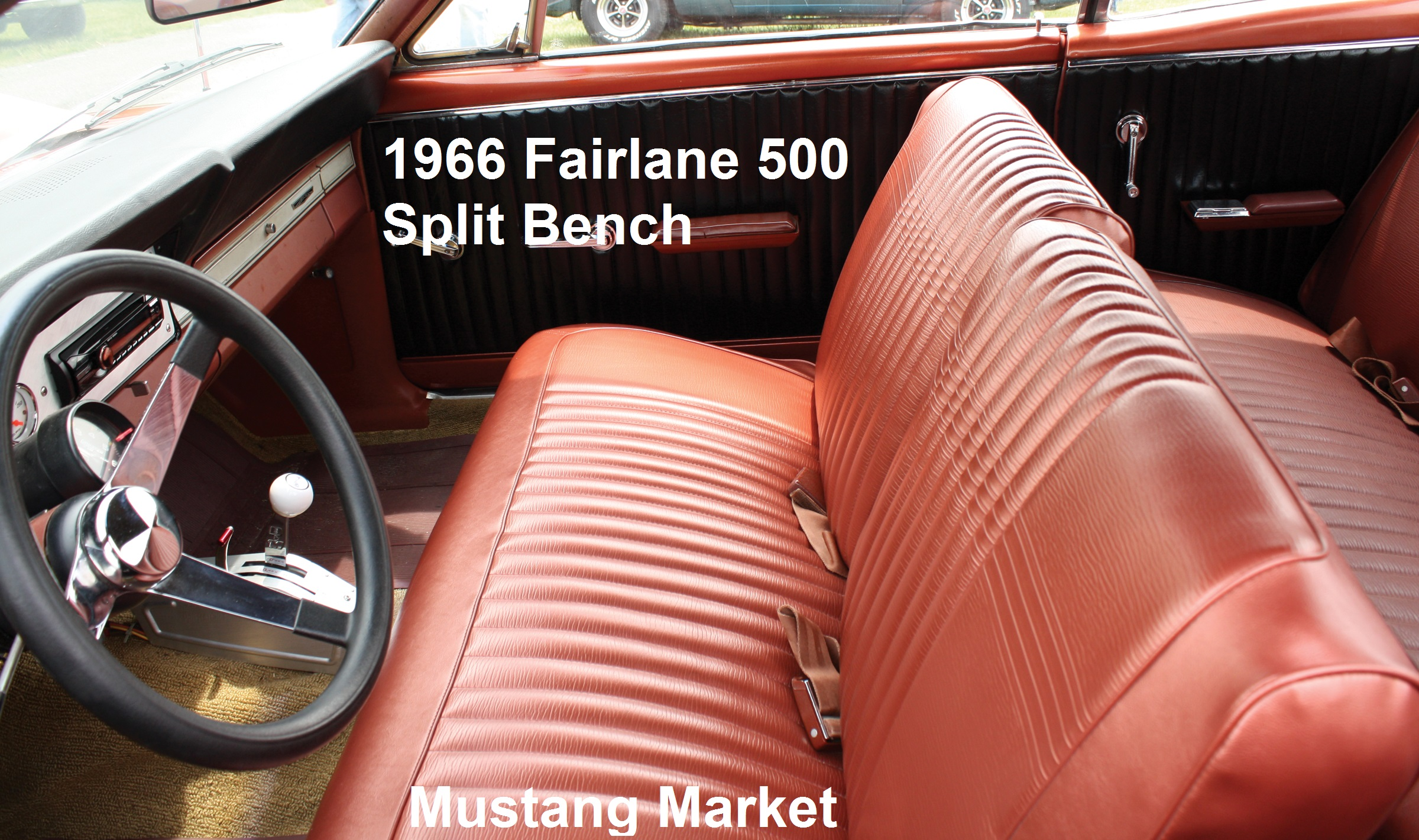 1966 Fairlane Split Bench Seat Upholstery