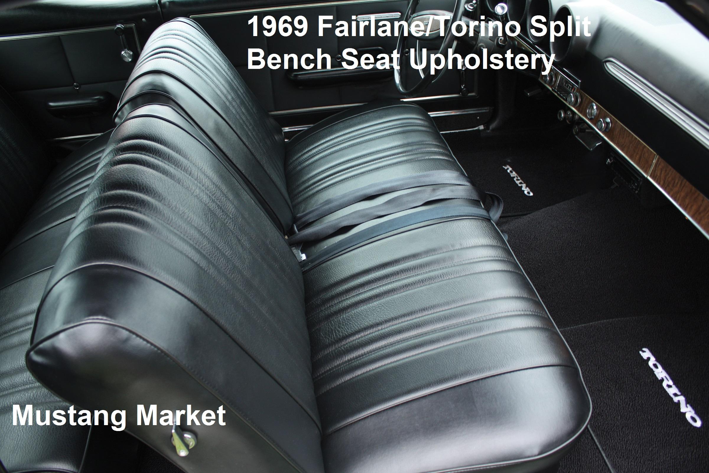 1969 Fairlane Bench Seat Upholstery