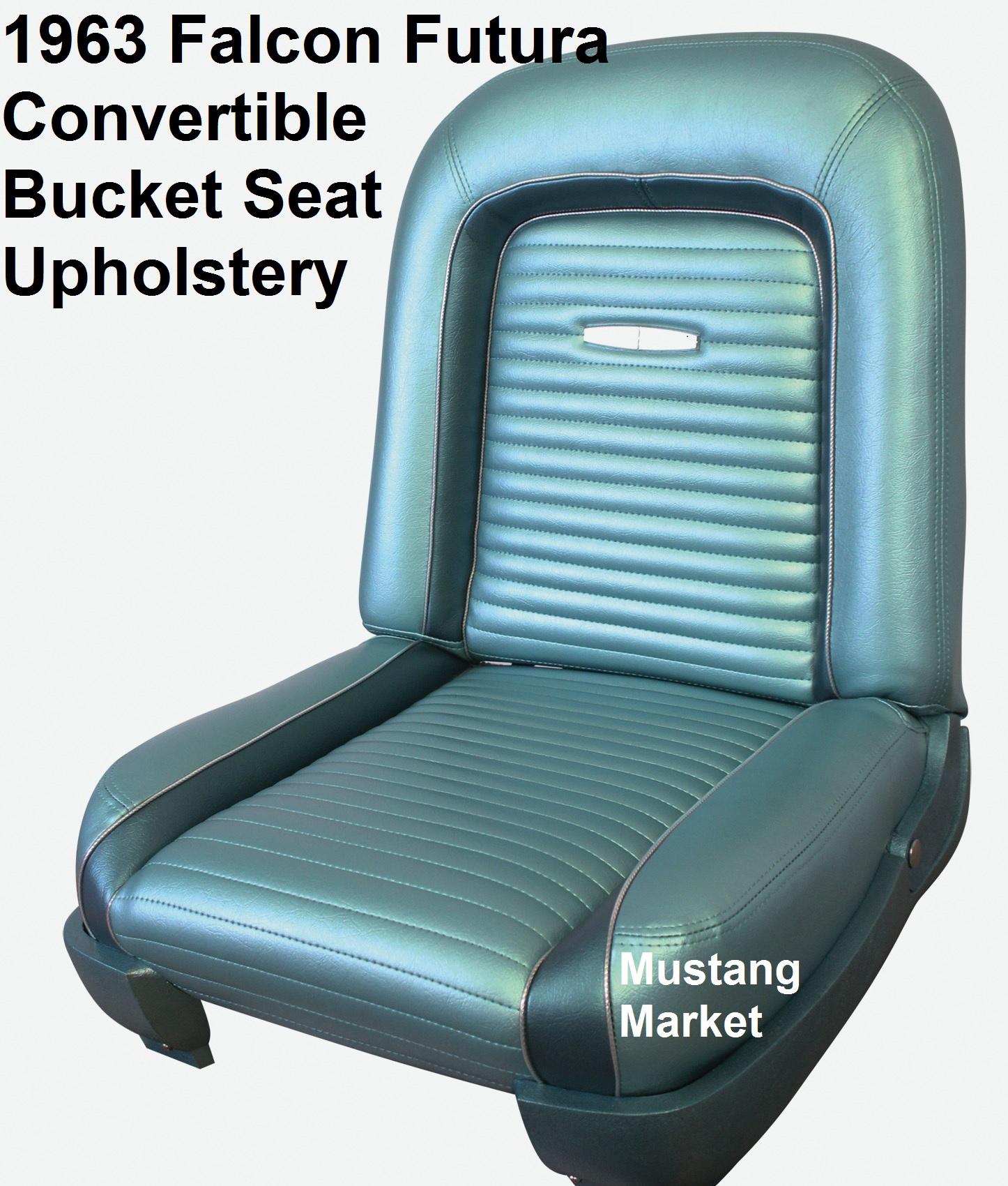 1963 63 Falcon Futura Bucket Seat Upholstery