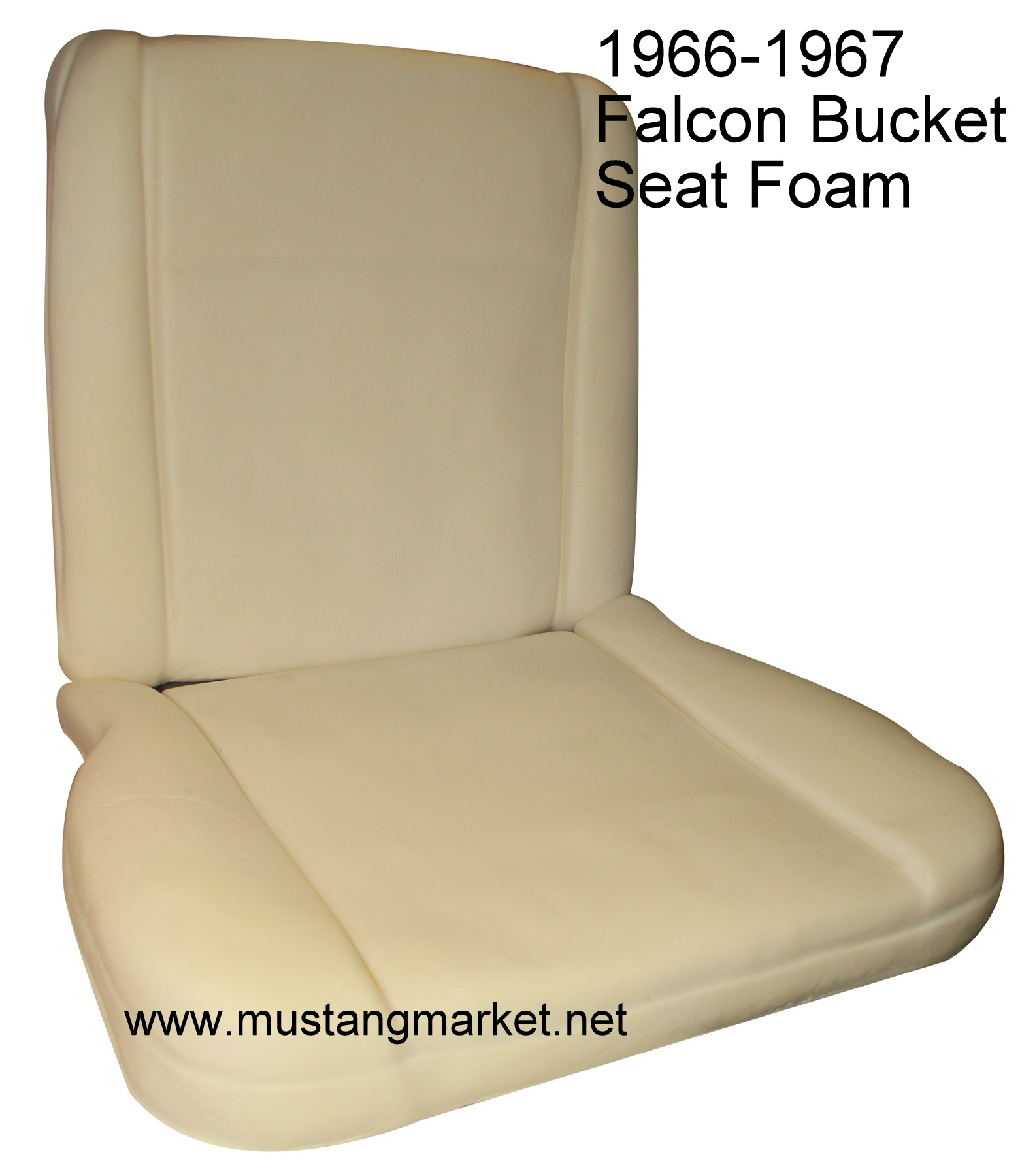 1966 Falcon Bucket Seat Foam