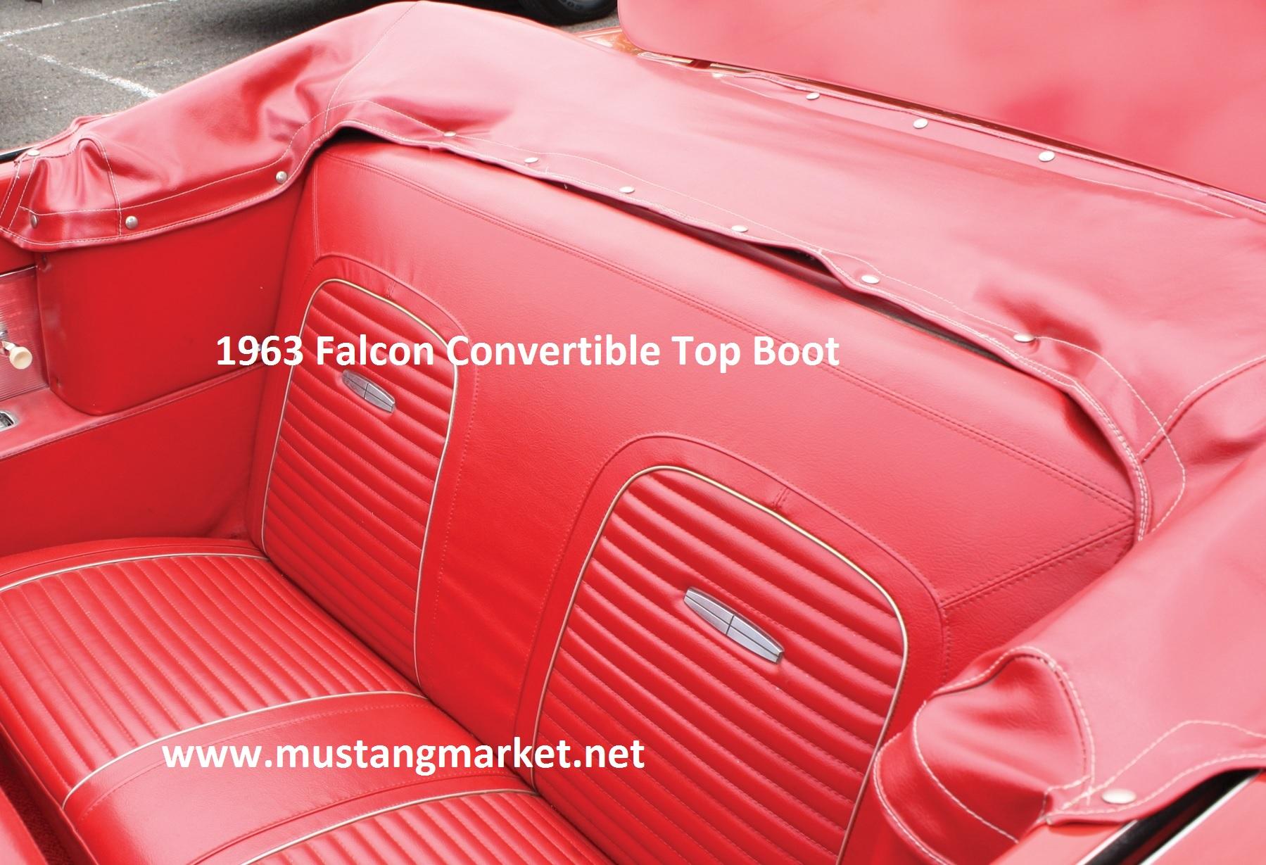 1963 1965 Falcon Convertible Top Boots