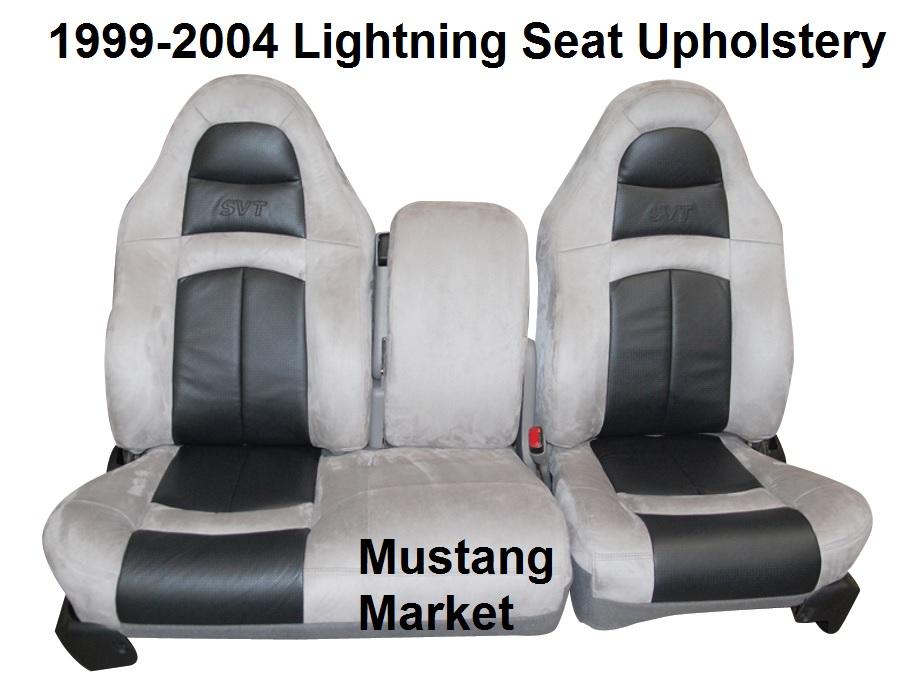 Excellent 1999 2004 Lightning Seat Upholstery F150 Lightning Upholstery Kit Machost Co Dining Chair Design Ideas Machostcouk