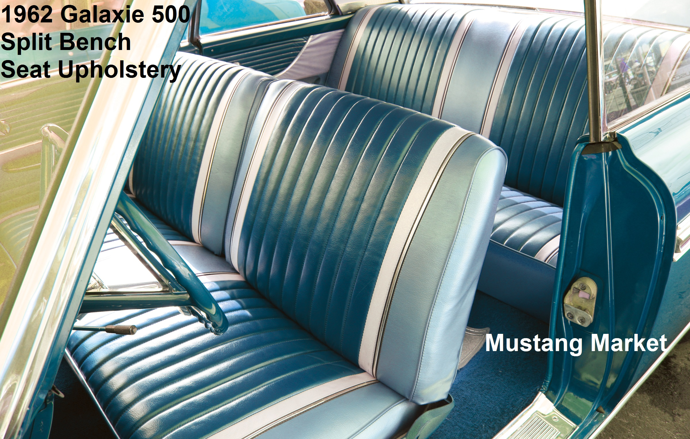 1962 Galaxie 500 Bench Seat Upholstery