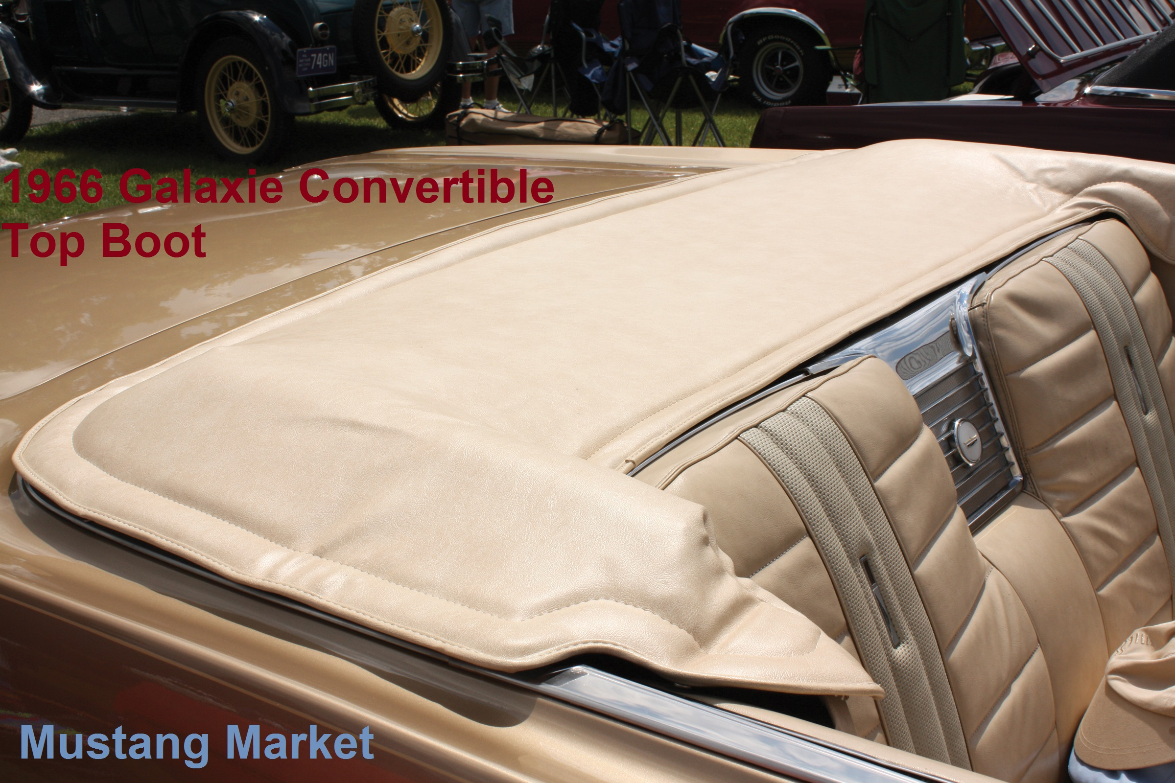 1966 Galaxie Convertible Top Boot