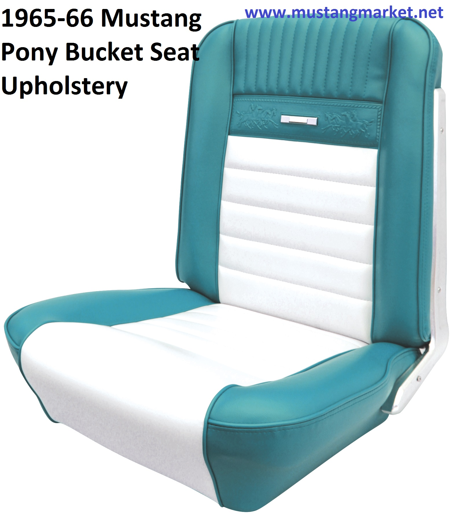 1965 Mustang Pony Upholstery
