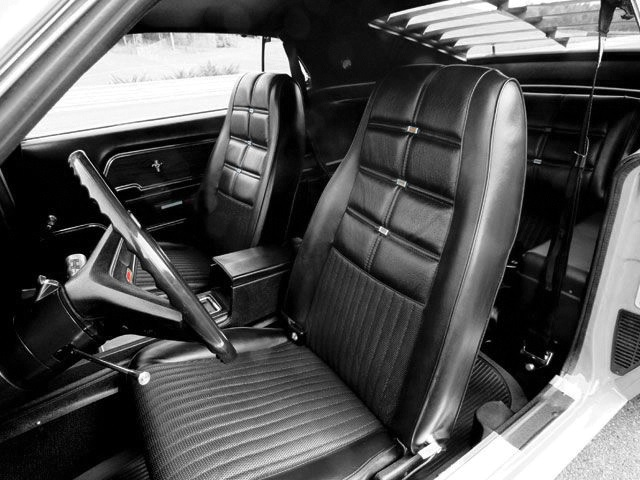 1970 Mustang Deluxe Hi-Back Bucket Seat Upholstery
