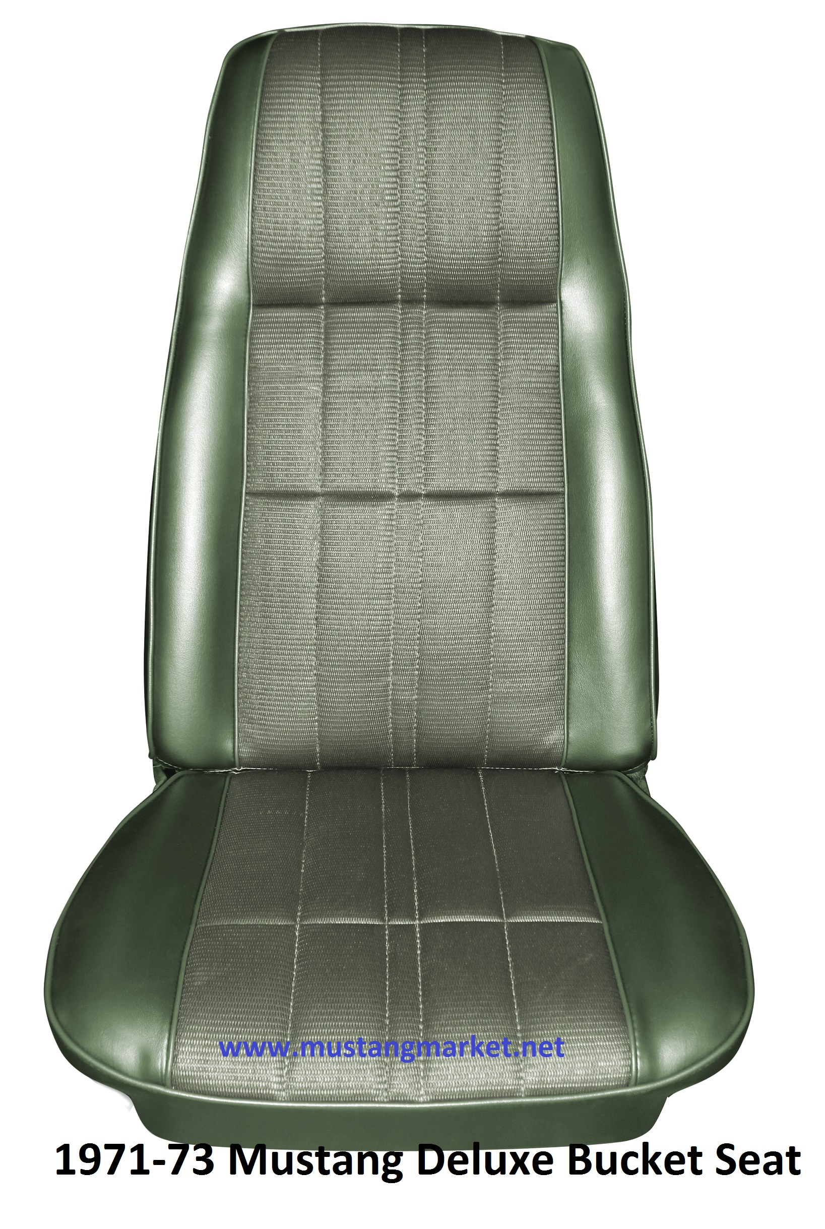 Seat Covers For Trucks >> 1971 Mustang Deluxe Hi-Back Bucket Seat Upholstery