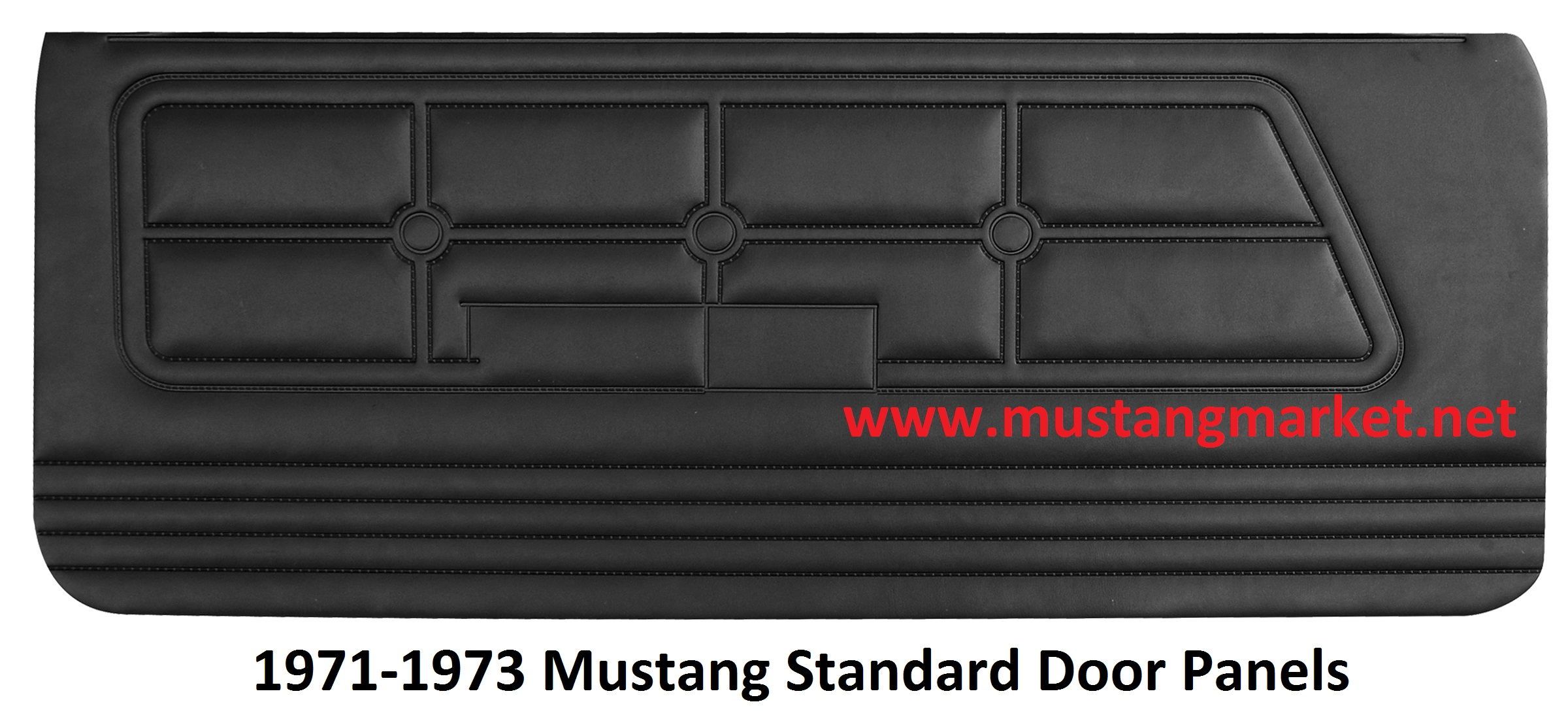 1971 1972 1973 mustang standard door panels for 05 mustang door panels