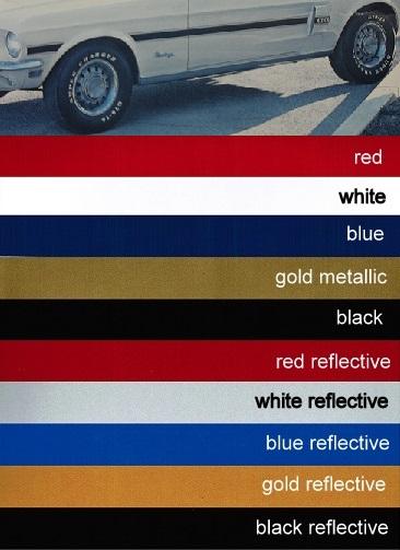 1968 68 Mustang Gt Cs California Special Stripe Kit