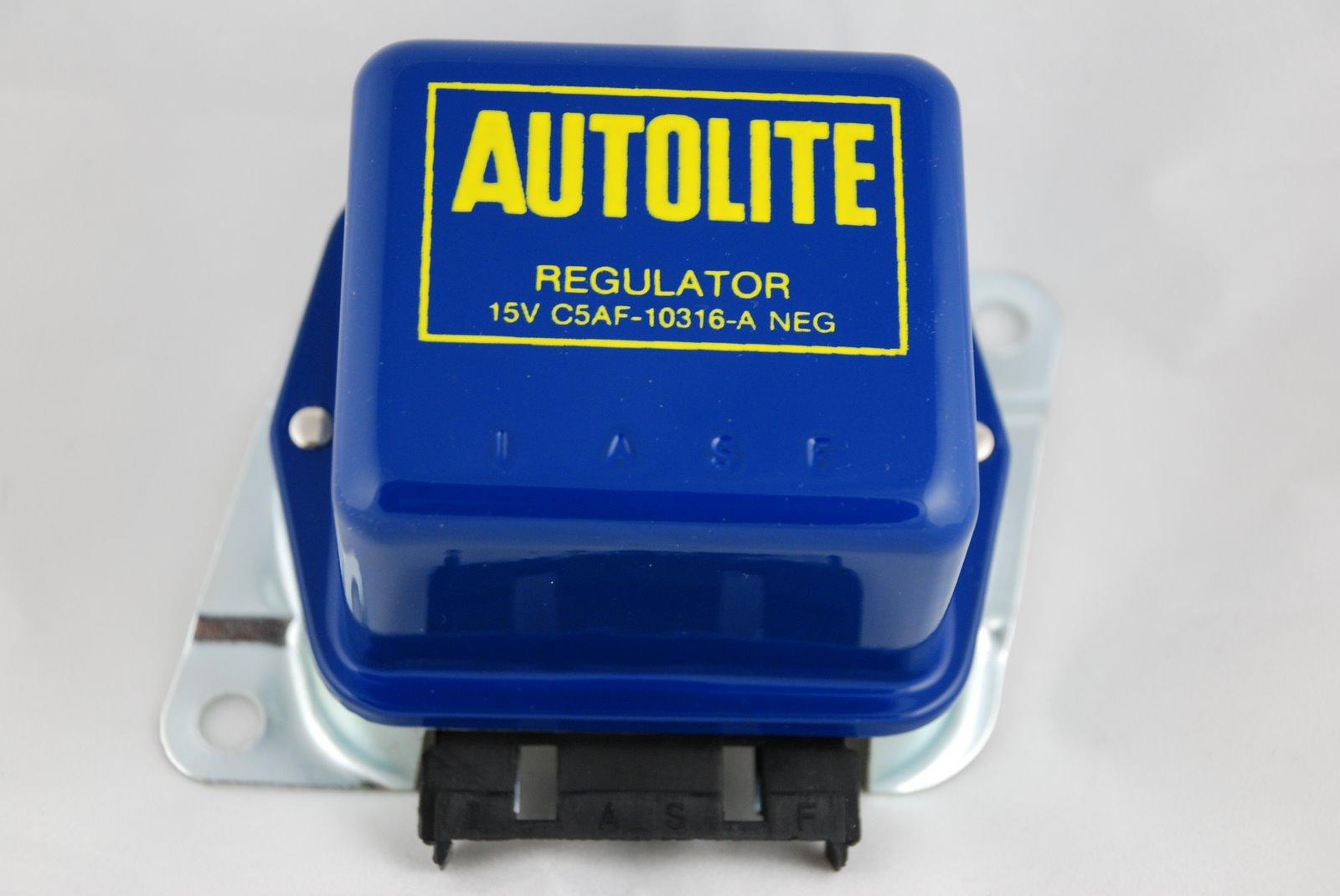 1965 1966 1967 Mustang Voltage Regulators