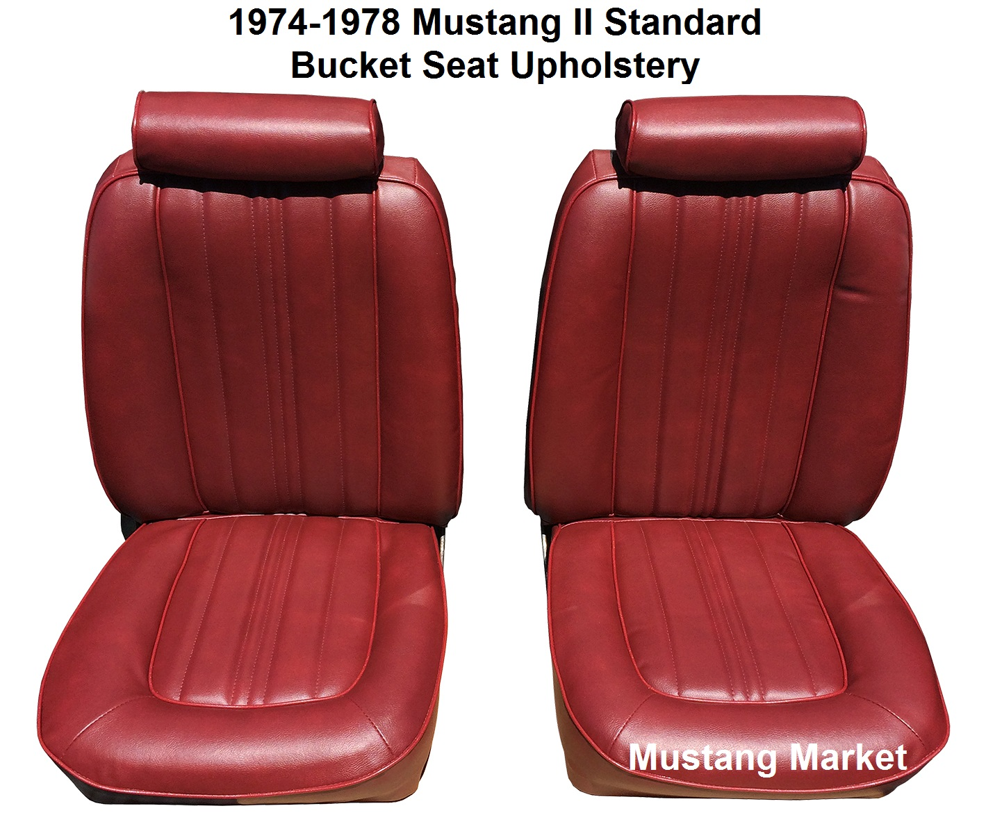 1974 1978 Mustang Standard Bucket Seat Upholstery