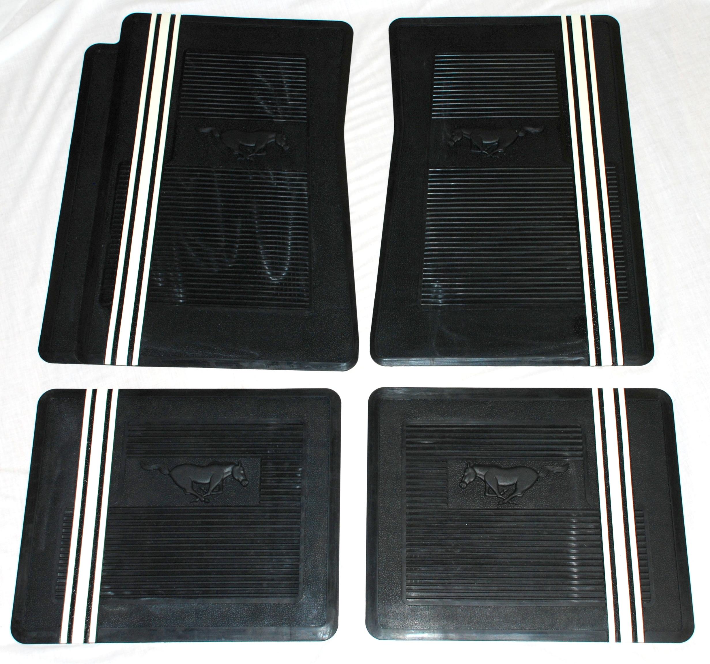 2005 2009 mustang rubber floor mats