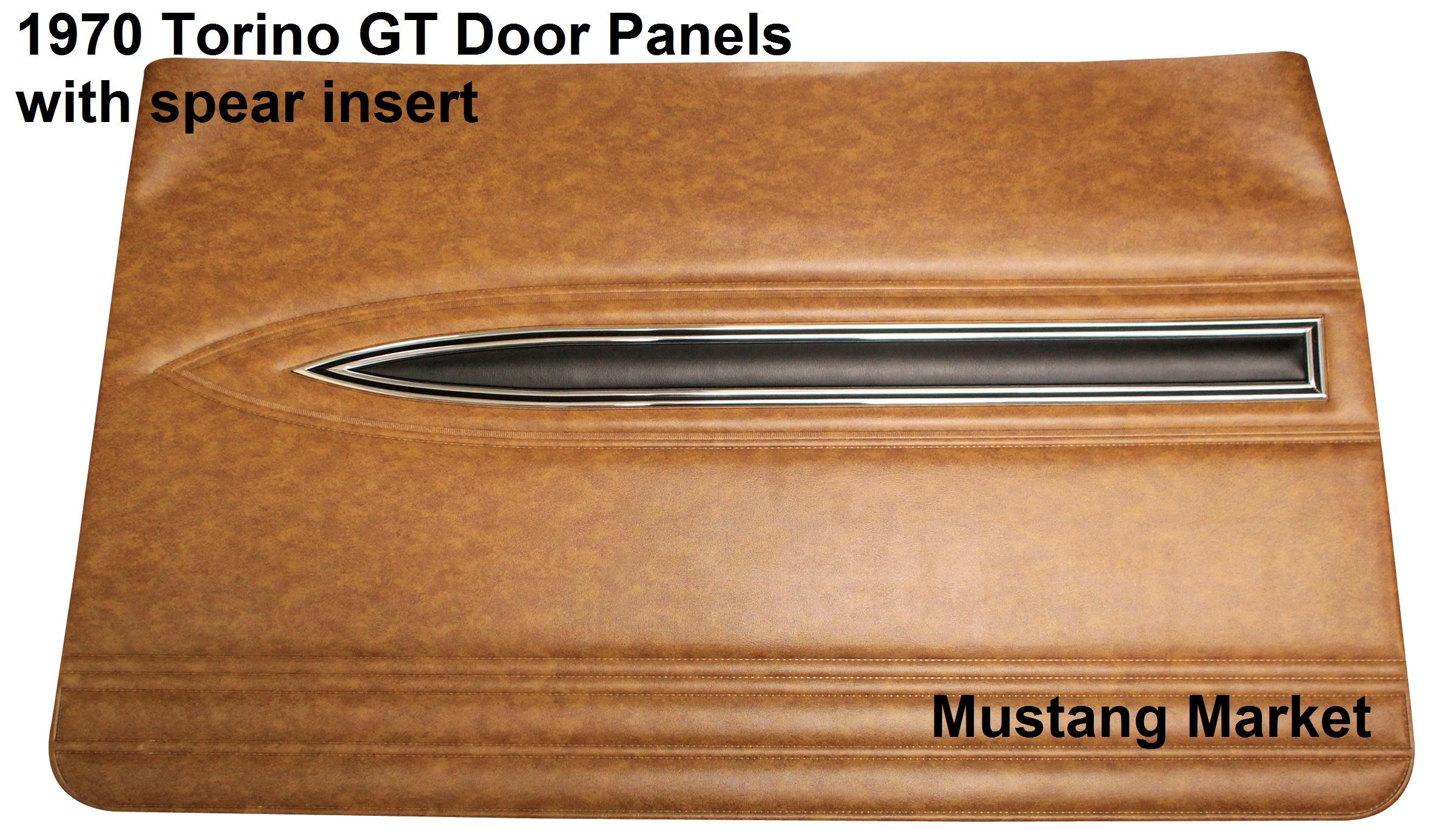 Torino Gt Door Panels