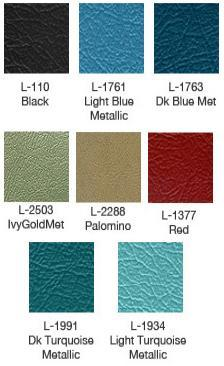 1963 Fairlane 500 Bench Seat Upholstery Colors