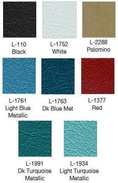 1964 Galaxie Door Panel Colors