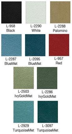 1965 Galaxie Bench Upholstery Colors