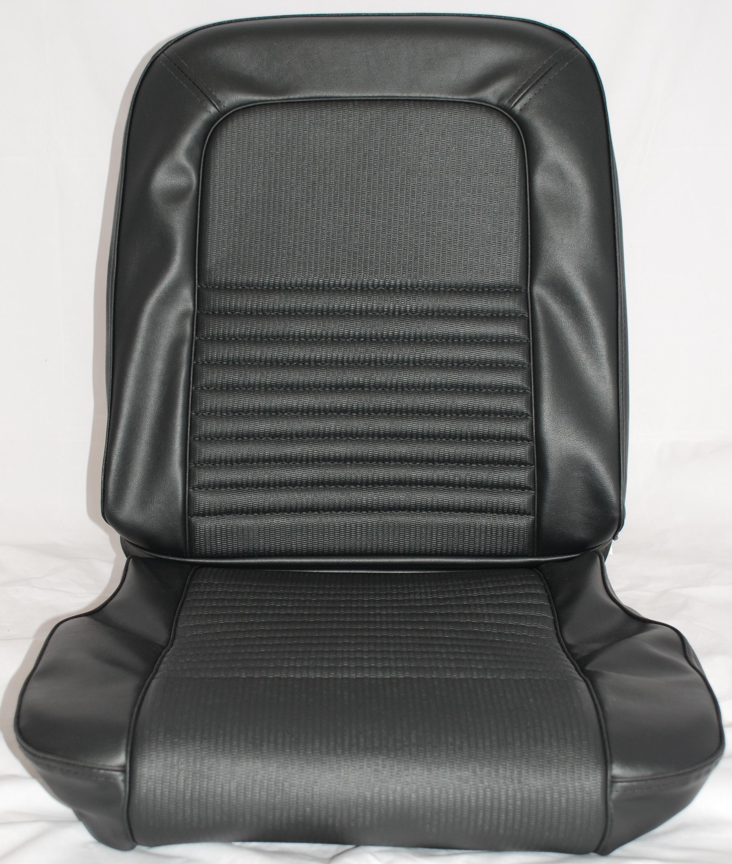 1967 Mustang Deluxe Bucket Upholstery