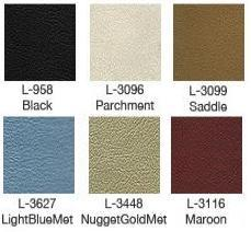 1968 Cougar Decor Upholstery Colors