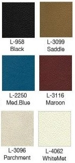 1971 Bronco Bucket Seat Upholstery Color Options