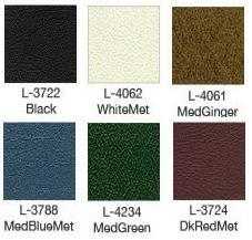 1970 Cougar Decor Upholstery Color Chart