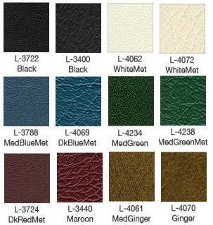 1973 Gran Torino Sport Bench Seat Upholstery Color Chart