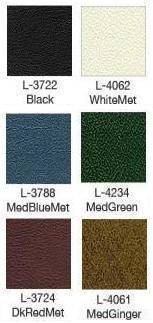 1973 Torino Bucket Seat Upholstery Color Chart